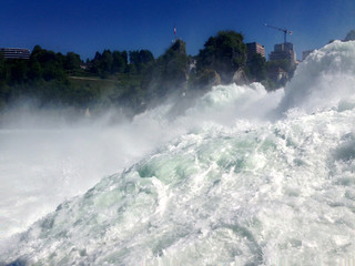 Rheinfall in Switzerland