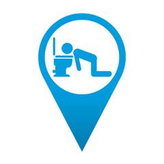 Icono localizacion simbolo vomitar