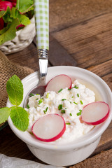 Breakfast cottage cheese
