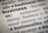 business meaning with dictionary style