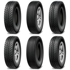 Vector Car Tires