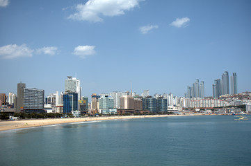 Haeundae Beach, Busan, Korean Republic