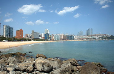 Haeundae Beach, Busan, Korean Republic