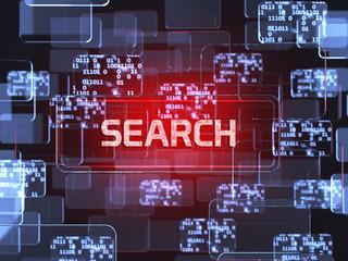 Search screen concept
