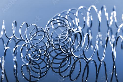 Aluminium Spiraal zwei Spiralen in chrom
