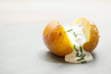 kartoffel mit quark