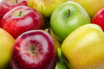 Different sorts of apples