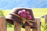 Hut auf Zaun