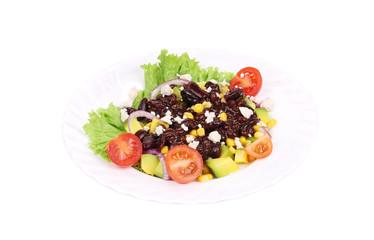 Beans salad.