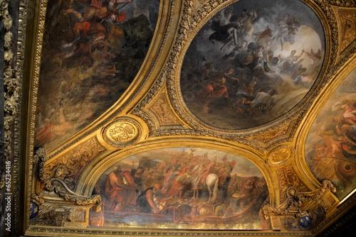 Painted ceiling in Versailles - 65234416