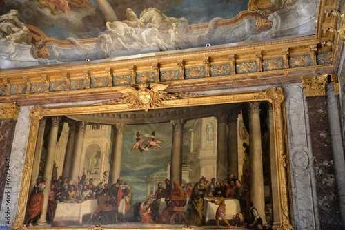 Decoration in the palace of Versailles - 65234423