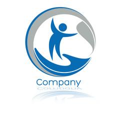 логотип природа и человек