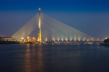 Rama8 bridge in Thailand