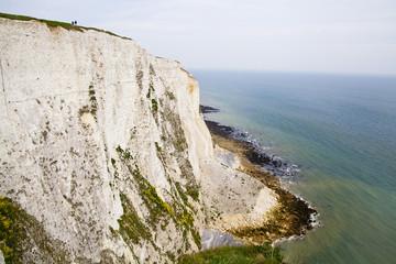 Dover, UK White cliffs national park