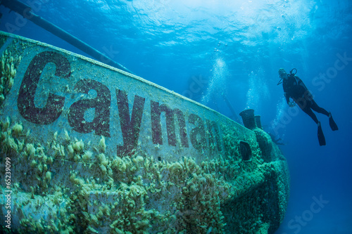 Cayman Shipwreck - 65239099