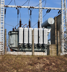 big high voltage transformers