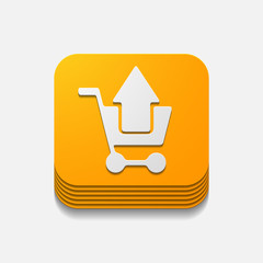 square button: shopping