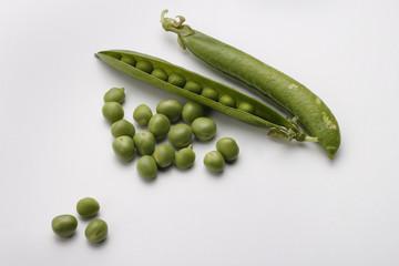 Guisante verde fresco