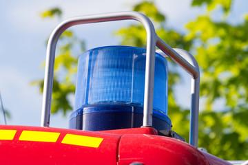Blaulicht von der Feuerwehr
