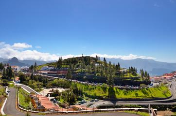 Mountain village Artenara