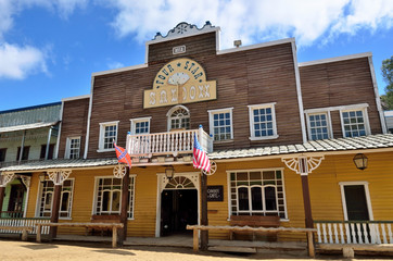 Wild West Town. Saloon