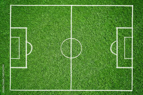 canvas print picture Soccer - Background