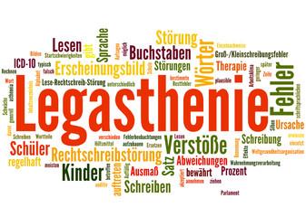 Legasthenie (Leseschwäche, LRS, Test)