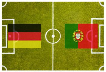 Auftaktspiel WM 2014 Deutschland gegen Portugal