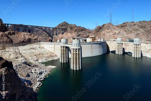 Leinwanddruck Bild Hoover Dam