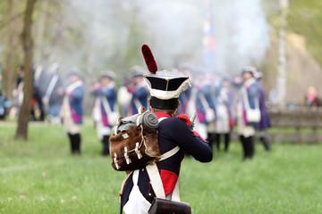 Żołnierze Napoleona.