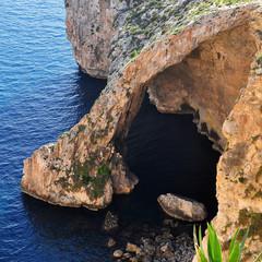 Blue Grotto,Malta island