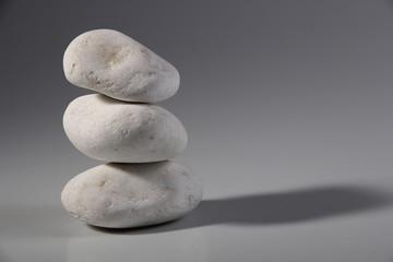 White decoration  stones