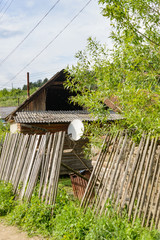Gypsy village in Ukraine