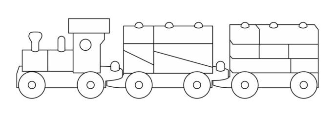 Spielzeugeisenbahn - Eisenbahn - Zug - Lok ~ V3