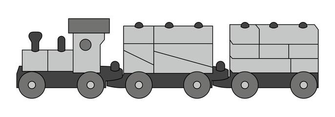 Spielzeugeisenbahn - Eisenbahn - Zug - Lok ~ V2