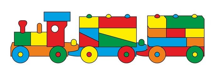 Spielzeugeisenbahn - Eisenbahn - Zug - Lok ~ V1