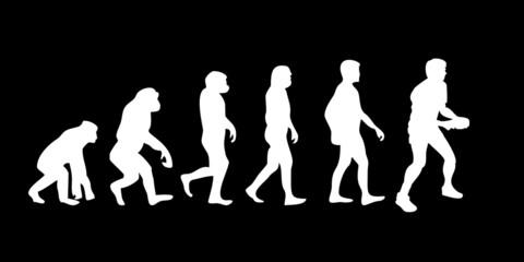 Vom Affen zum (Menschen) Tischtennis Spieler