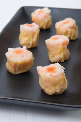 Chinese Dimsum Shumai on the dish