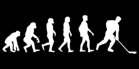 Vom Affen zum (Menschen) Eishockey Spieler