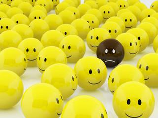 isolated smiley