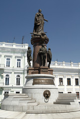 Statue of Empress Catherine the Great in Odessa