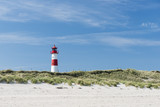 Lighthouse on dune horizontal
