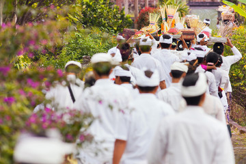 traditions of culture on the island of Bali