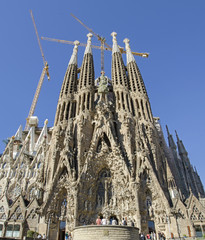 Sagrada Familia -Eingang