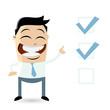 checkliste wahl kontrolle haken auswahl