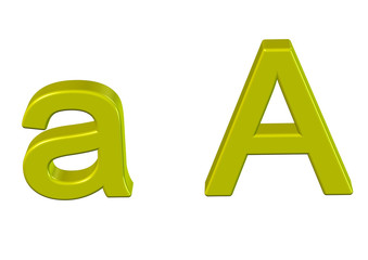 sarı a harfi