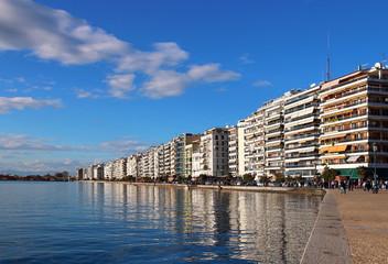 Thessaloniki embankment, Greece