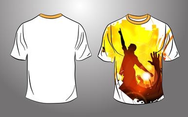 Party T-Shirt template vector design