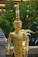 Statua del palazzo reale Bangkok.