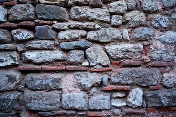 Ancient Stone Horizontal Wall Background